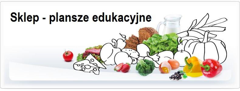 sklep - plansze edukacyjne z dietetyki