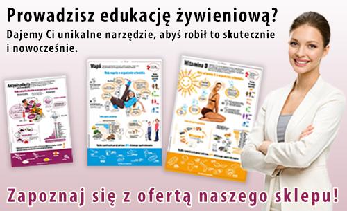 plansze edukacyjne z dietetyki - sklep